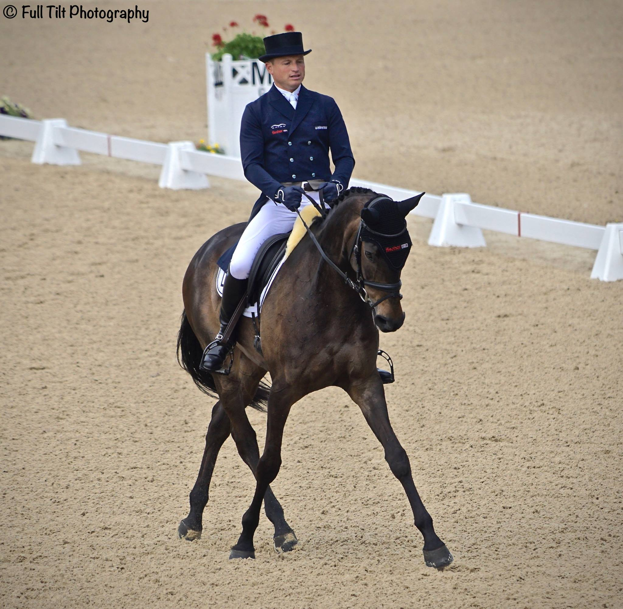 Micheal Jung half pass Dressage